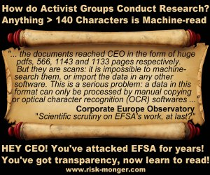 CEO EFSA
