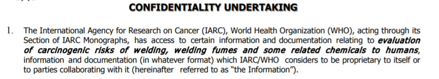iarc confidential