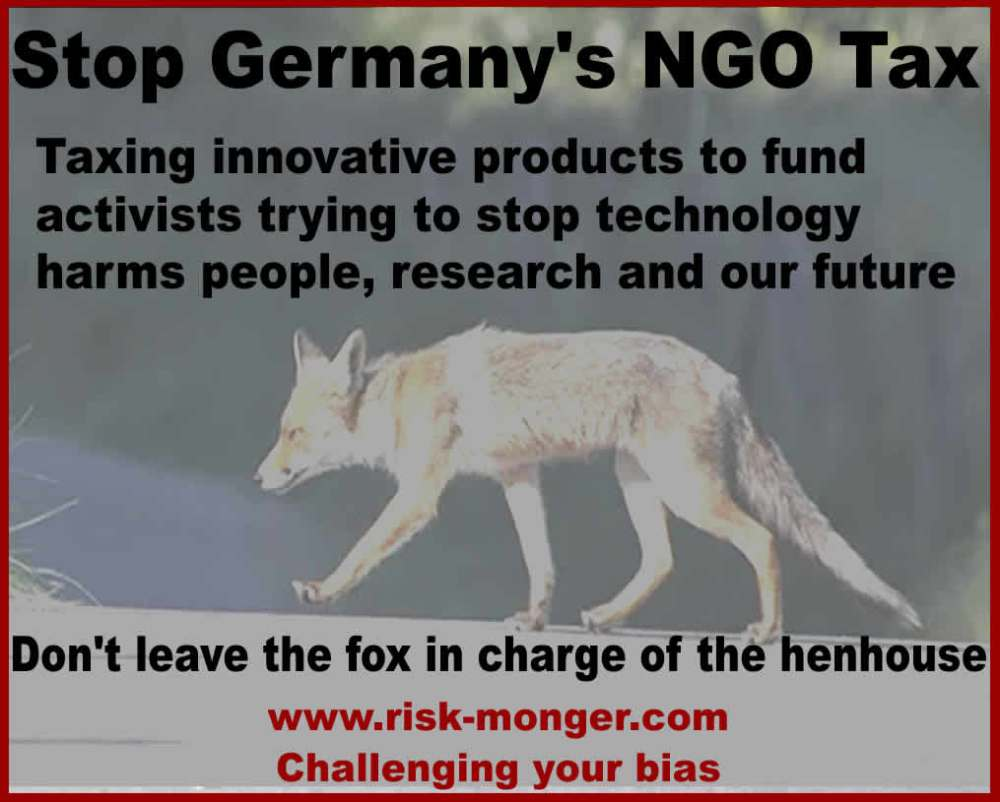 wolf henhouse NGO tax