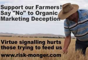 no to organic